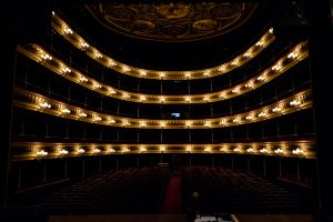 Estreno de Guatizalema en el Teatro Principal de Zaragoza