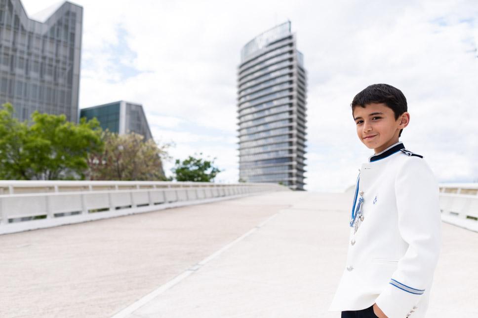 Reportaje de Comunión en el Parque del Agua (Zaragoza)