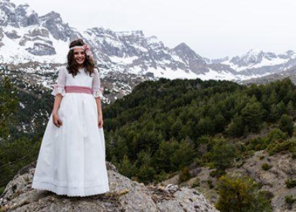 Comunión de Pilar en el Pirineo